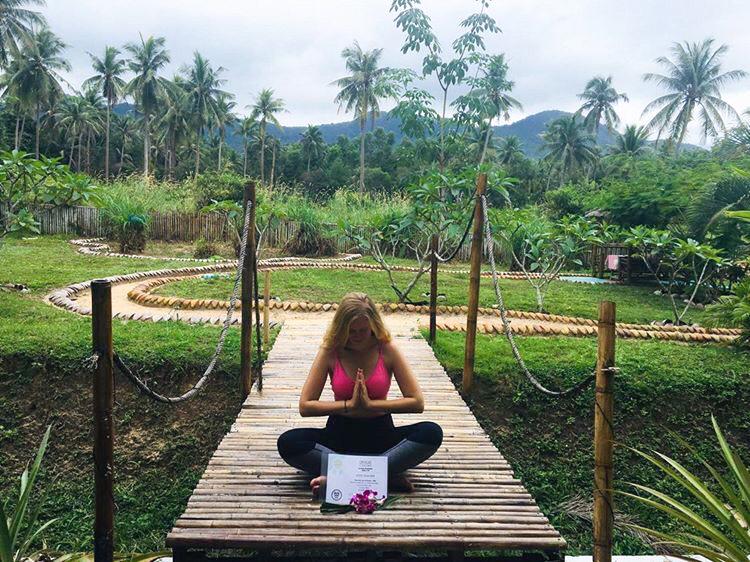 Abgeschlossene Yoga Ausbildung