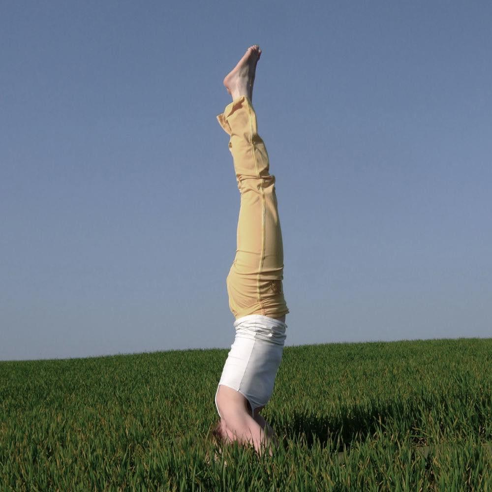 Ausgebildete Yogalehrerin