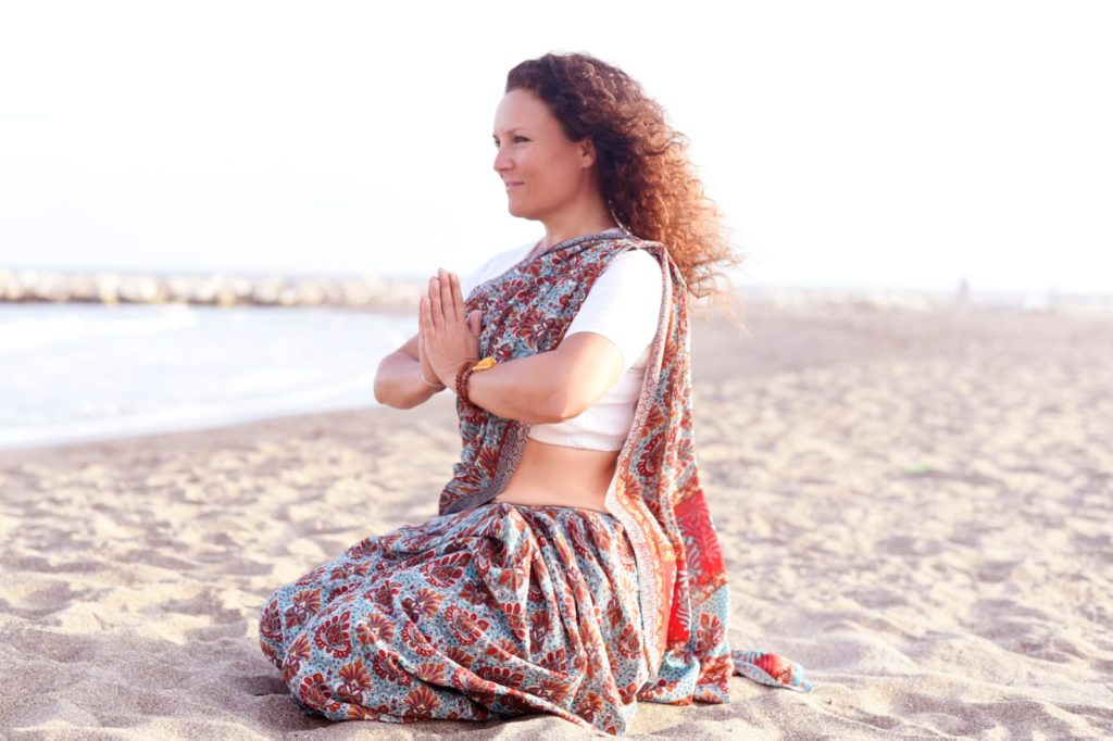 Yin Yoga am Strand