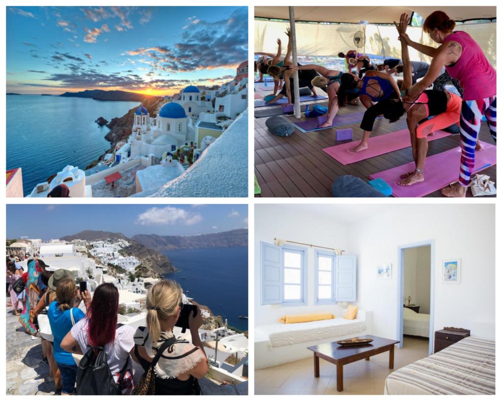 Yoga-Retreat Santorini
