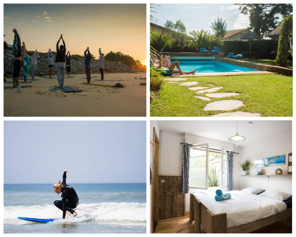Yoga Retreat Surfen