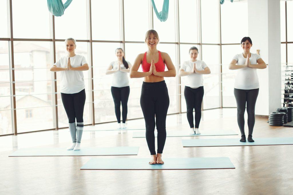 Yogi nach erfolgreichem Bestehen der Yoga-Ausbildung