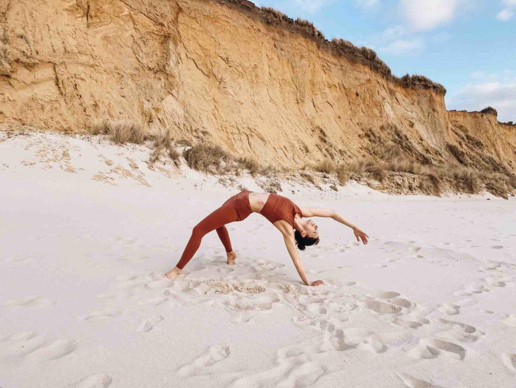 Erste eigene Yogastunde